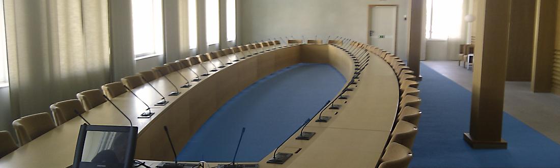 Trådlös konferensutrustning, Stockholm
